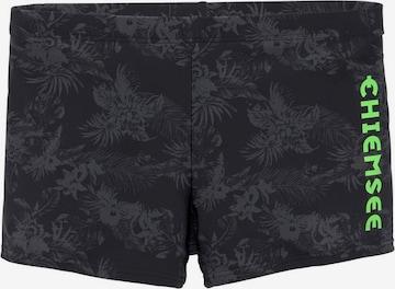 CHIEMSEE Swim Trunks in Black