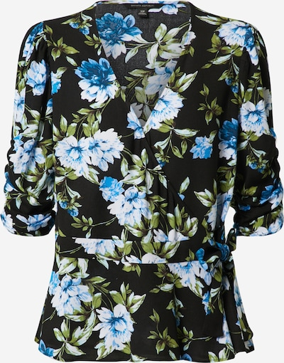 Banana Republic Shirt 'ELBOW SLEEVE TIE WRAP TOP' in mischfarben / schwarz, Produktansicht