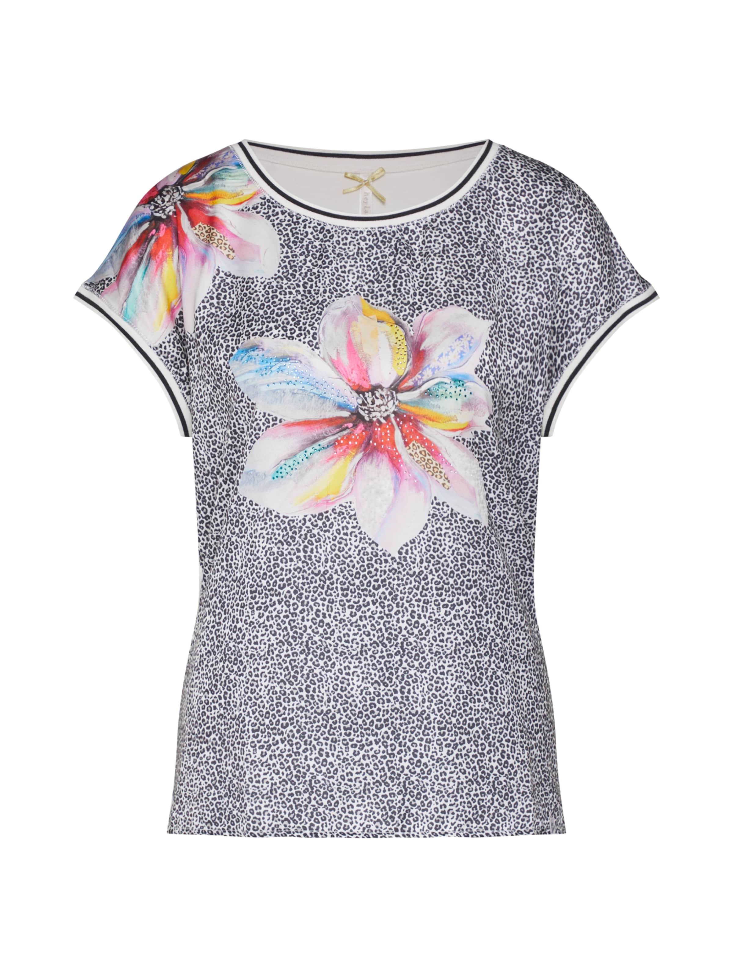 Great Key shirt Round' En De ClairMélange T 'wt Couleurs Gris Largo 8nvmw0N