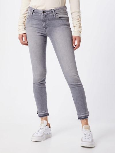Rich & Royal Jeans 'Midi - Grey - Jean' in grau, Modelansicht