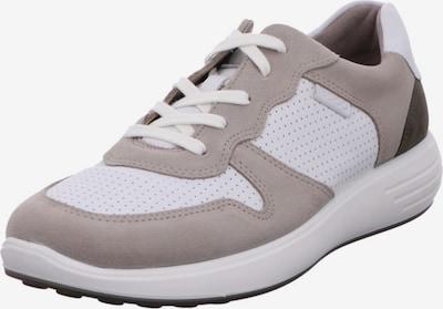 ECCO Schnürschuhe in grau / schwarz / weiß, Produktansicht