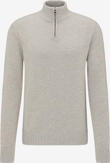 DREIMASTER Pullover in grau: Frontalansicht