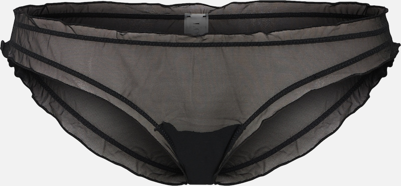 LOVE Stories Slip 'Lolita Brief Brief' in schwarz, Produktansicht
