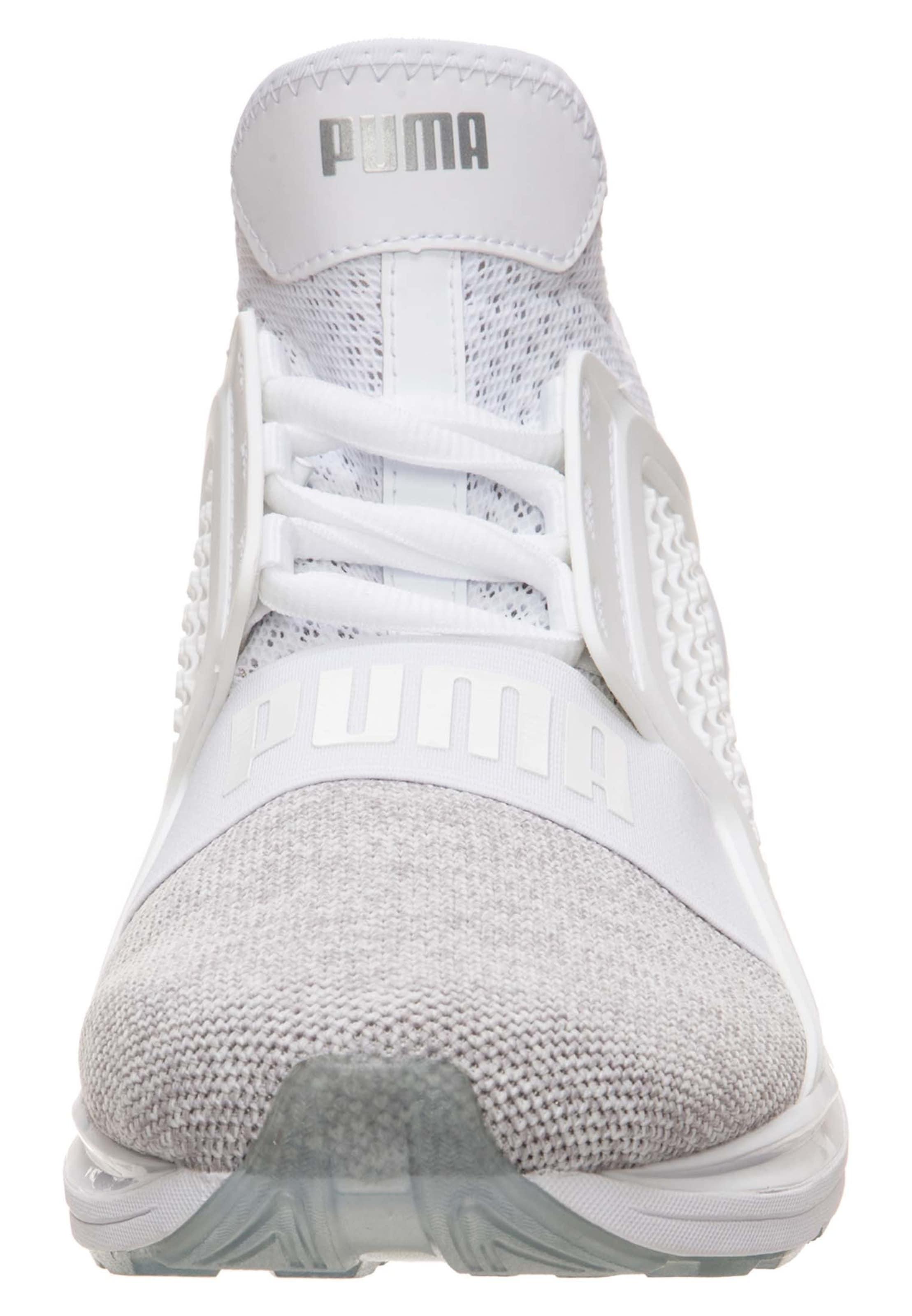 Knit' Limitless In GraumeliertWeiß Sneaker 'ignite Puma Tc1JlFK