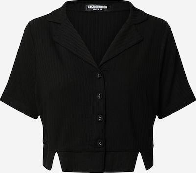 Fashion Union Bluse in schwarz, Produktansicht