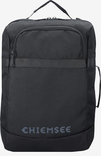 CHIEMSEE Rucksack in grau / schwarz, Produktansicht