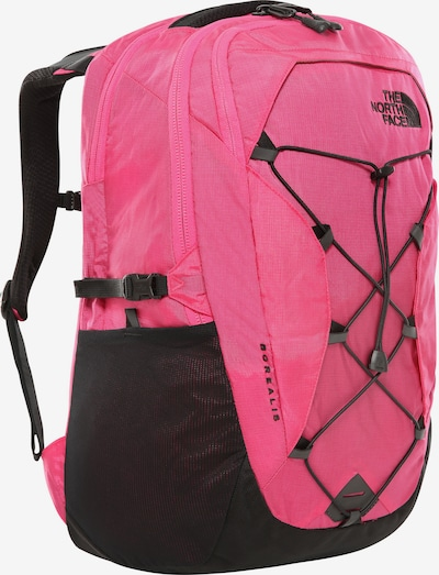 THE NORTH FACE Rucksack 'Borealis' in pink / schwarz, Produktansicht