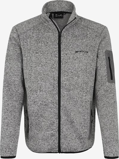 Whistler Funktionsfleecejacke 'Abel' in grau / schwarz, Produktansicht