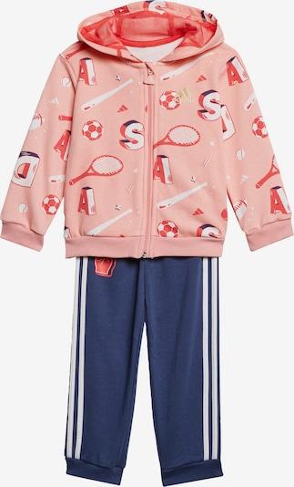 ADIDAS PERFORMANCE Anzug in dunkelblau / rosa, Produktansicht