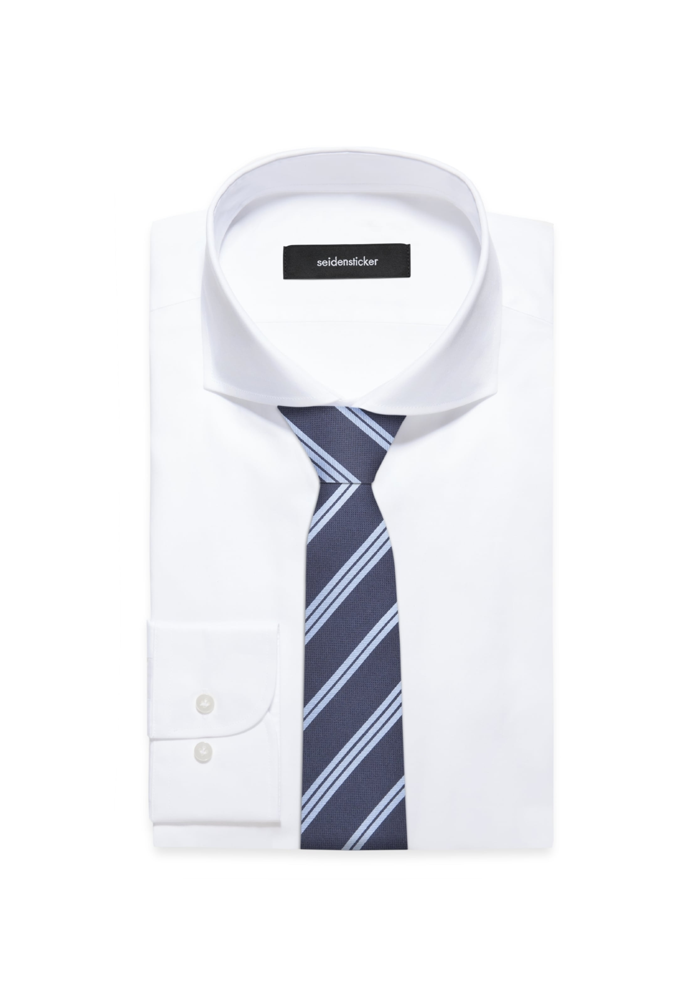 'schwarze In Krawatte Rose' HellblauDunkelblau Seidensticker LGMqSVUpjz