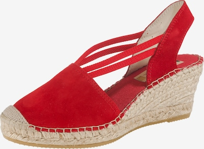 Vidorreta Sandaletten in rot, Produktansicht
