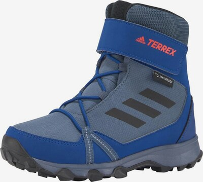 ADIDAS PERFORMANCE Boots in blau / taubenblau / orange / schwarz, Produktansicht