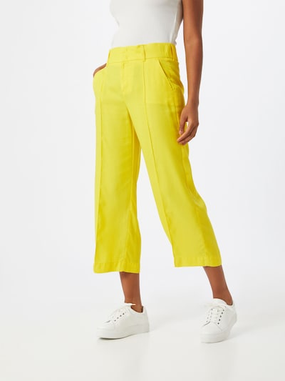 STREET ONE Pantalon 'Emee' in de kleur Geel, Modelweergave