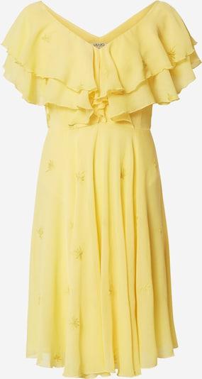 LIU JO JEANS Kleid 'Palmen Stickerei' in gelb / grün, Produktansicht