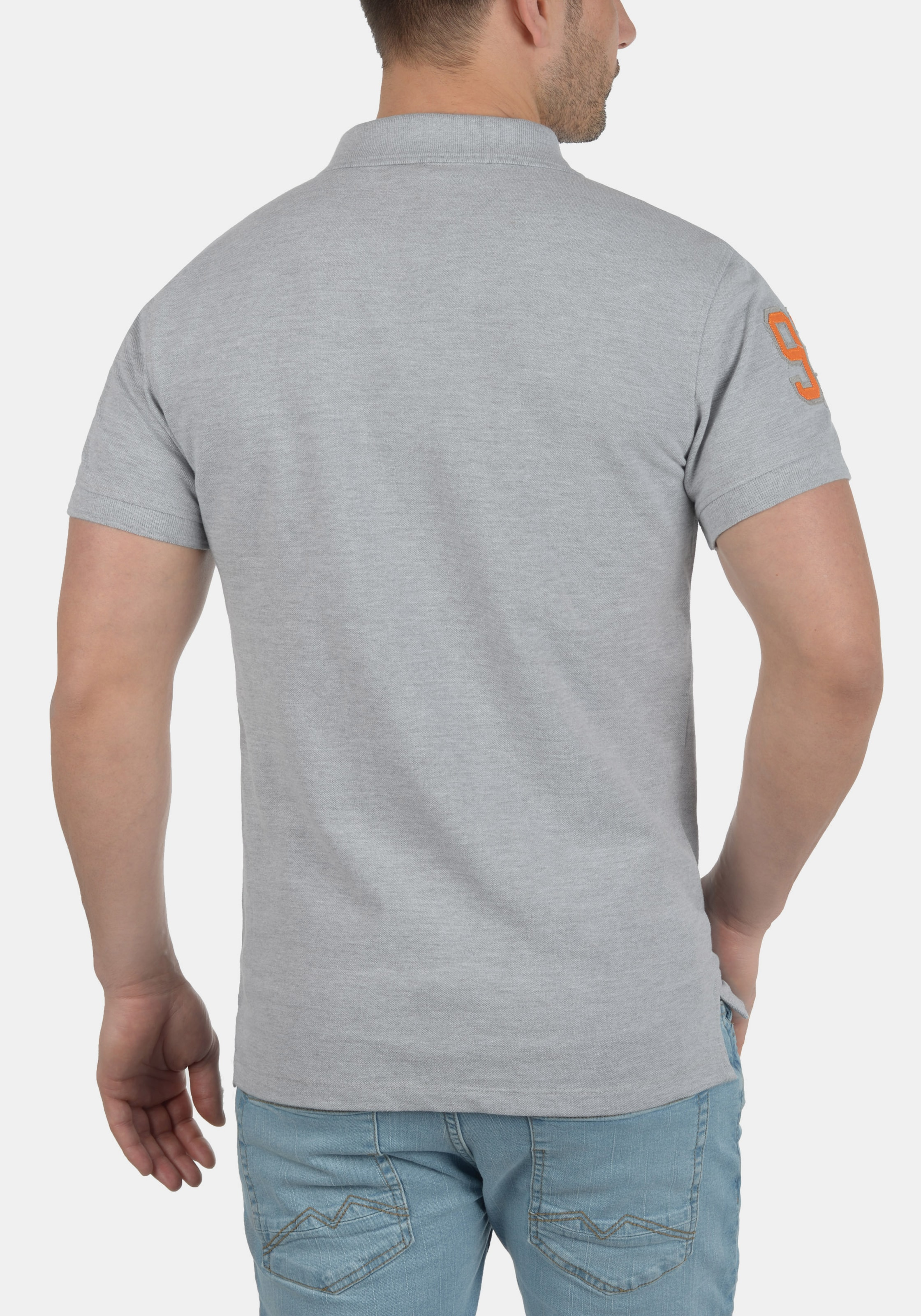 Blend Grau 'dave' Blend In Poloshirt k0PnwO