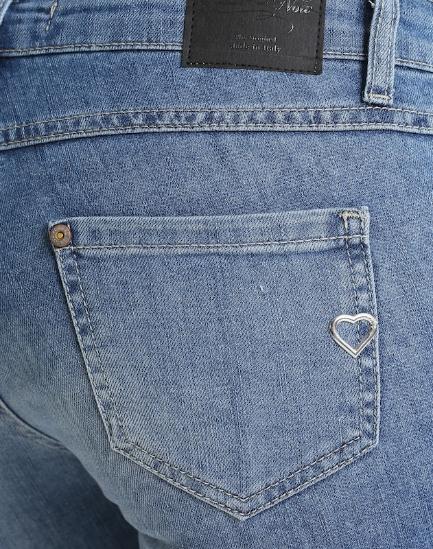 Blauw Denim Please Jeans 'skinny' In nOwNPk80X