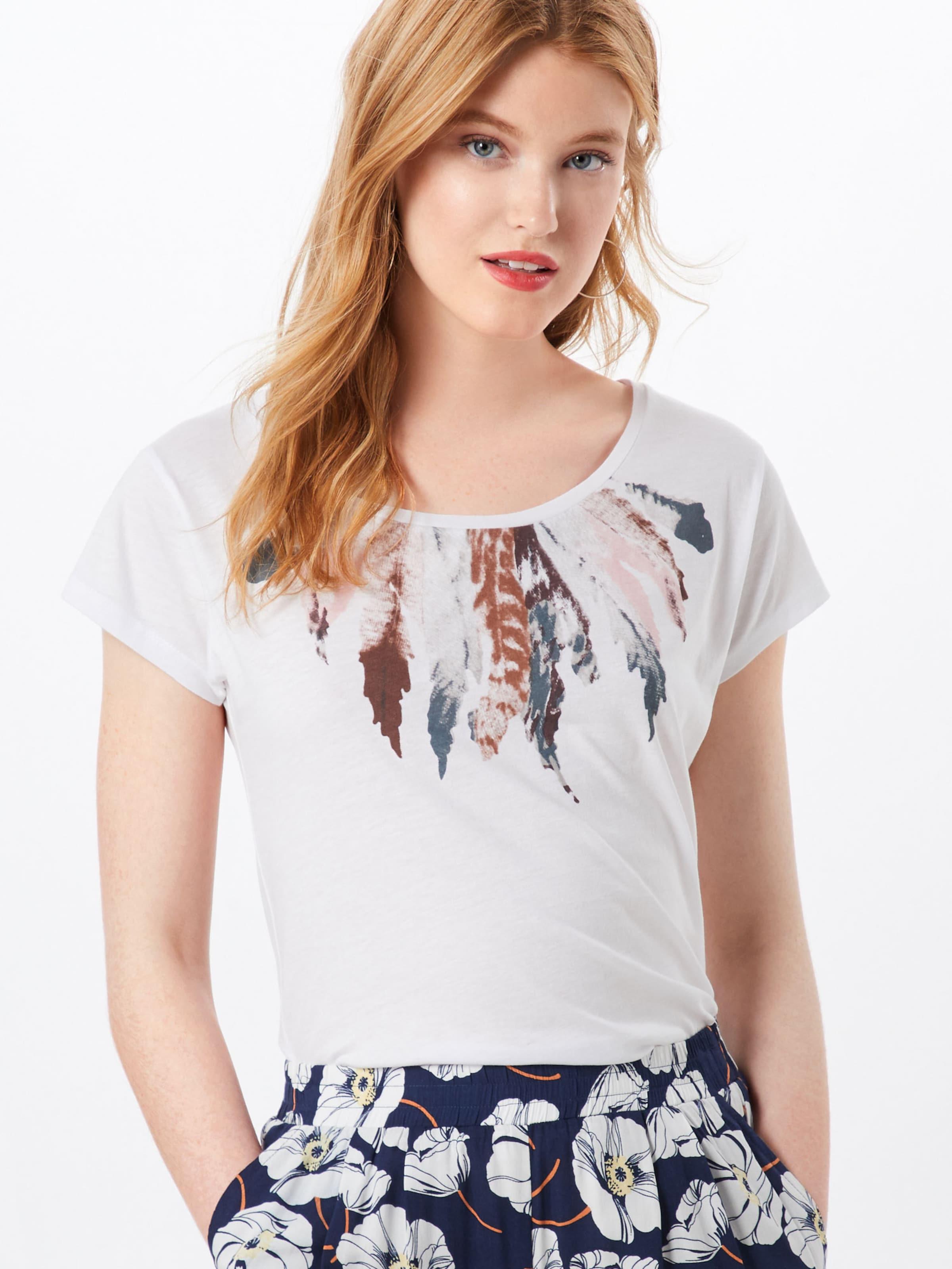shirt T Cassé 'elli' Mélange CouleursBlanc De Hailys En 8n0wOPZkNX