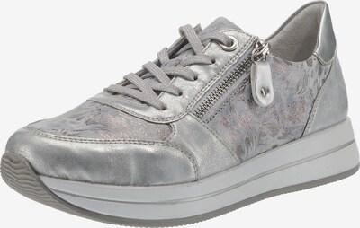 REMONTE Sneakers Low in silber / weiß, Produktansicht