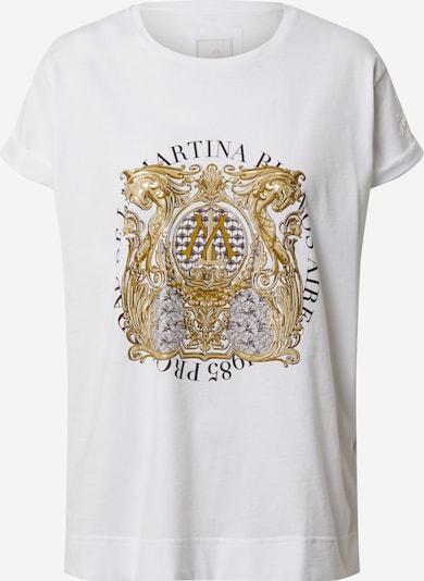La Martina Shirt 'QUINTA' in de kleur Wit, Productweergave