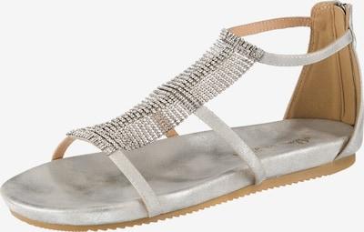 Alma En Pena Sandalen in silber, Produktansicht