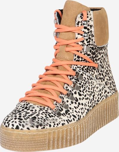 Shoe The Bear Stiefel 'Agda Leo' in braun / schwarz / weiß, Produktansicht