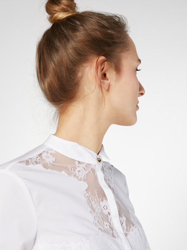 Guess Blouse With Lace Insert