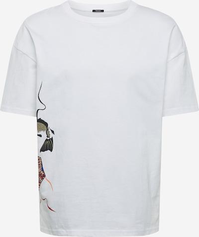 Tricou 'KITE 2 TEE HCJ' DENHAM pe alb, Vizualizare produs
