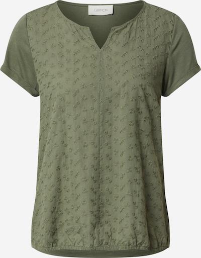 Cartoon Shirt in khaki / dunkelgrün, Produktansicht