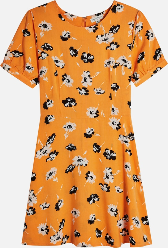 Miss Selfridge Kleid 'PRINTED TEA DRESS' in mischfarben / orange, Produktansicht