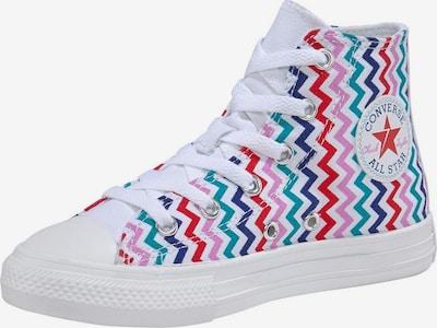 CONVERSE Sneaker 'All Stars' in blau / grau / pink / rot / weiß, Produktansicht