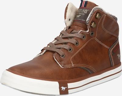 MUSTANG Sneaker in braun, Produktansicht