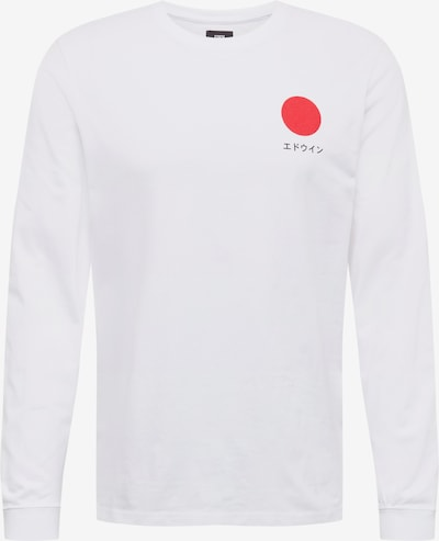 EDWIN Shirt 'Japanese Sun' in weiß, Produktansicht