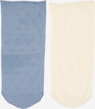 Swedish Stockings Sokken 'Judith dots sock 2pack' in de kleur Beige / Blauw, Productweergave