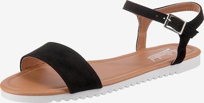 UNLIMITED Sandalen in schwarz, Produktansicht