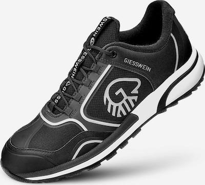 GIESSWEIN Schnürschuhe in schwarz / weiß, Produktansicht