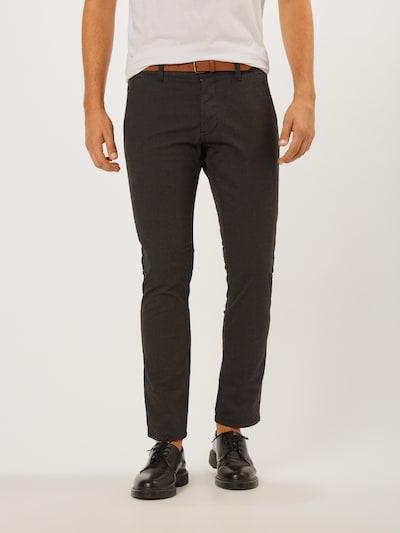 ESPRIT Pantalón chino en antracita, Vista del modelo