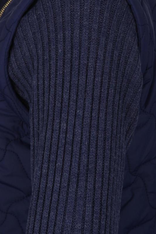 MYMO Blouson Blouson Blouson  Weste mit abnehmbarer Ärmel in blau  Großer Rabatt 3a6e12