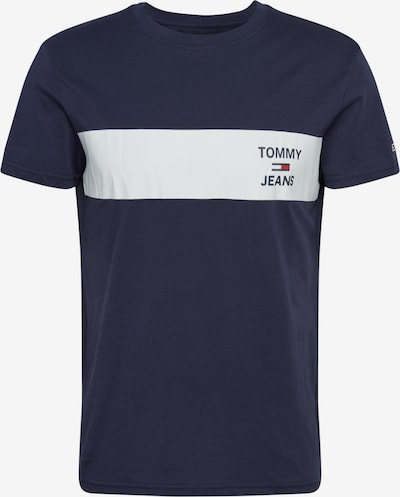 Tommy Jeans T-Shirt 'TJM CHEST STRIPE LOGO TEE' in navy, Produktansicht