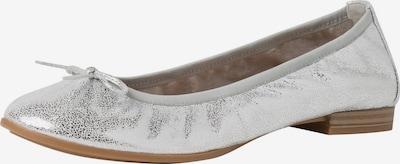 TAMARIS Ballerinas in silber, Produktansicht