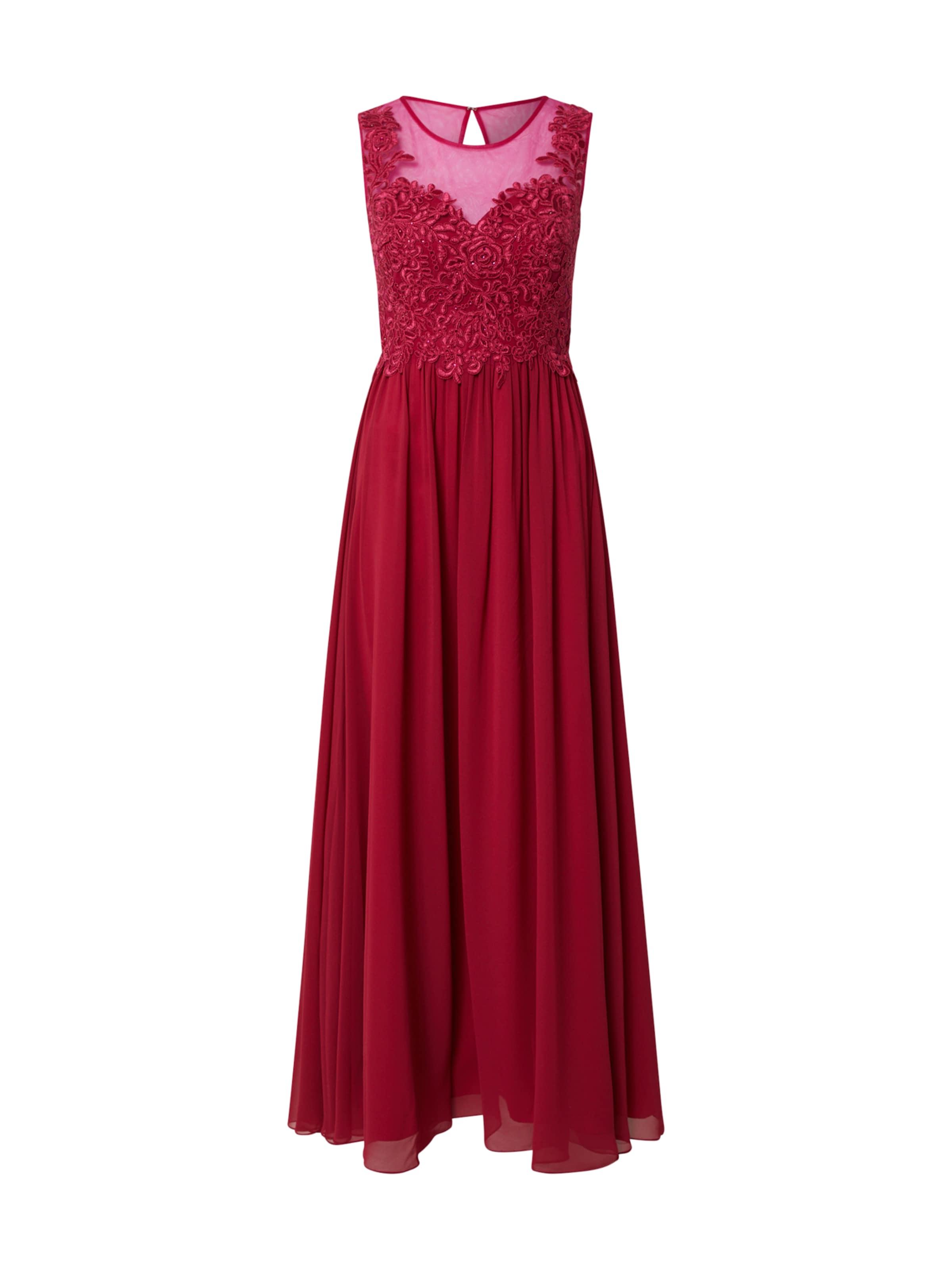 Laona Aftonklänning 'Eveningdress' i rosa / körsbärsröd