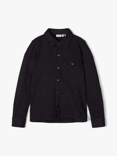 NAME IT Hemd in schwarz, Produktansicht
