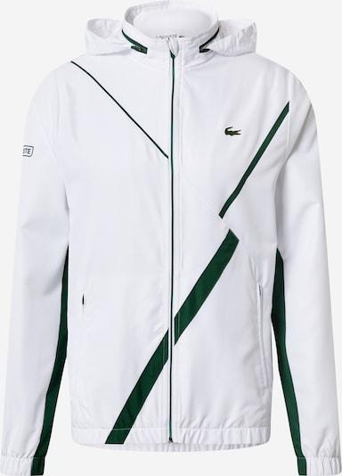 Sportinė striukė 'Taffetas Diamante' iš Lacoste Sport , spalva - žalia / balta, Prekių apžvalga