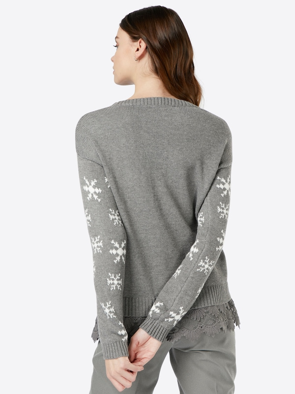 Cream Pullover 'Christmas'