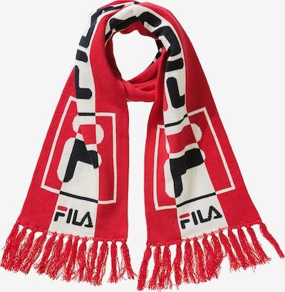 FILA Schal in rot / schwarz / weiß, Produktansicht