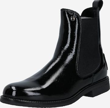 PANAMA JACK Chelsea Boots 'Gillian' in Black