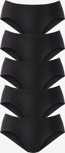 PETITE FLEUR Pikee-Jazzpants in schwarz, Produktansicht