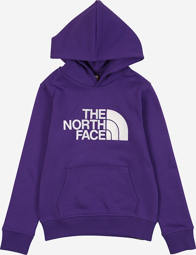 THE NORTH FACE Sportief sweatshirt in de kleur Donkerlila / Wit, Productweergave