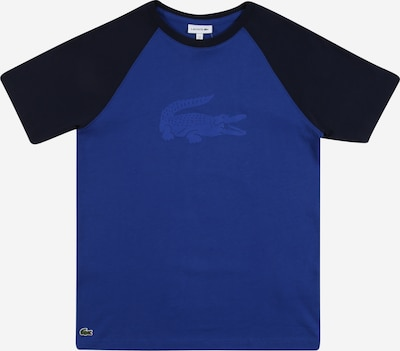 LACOSTE Shirt in blau / schwarz, Produktansicht