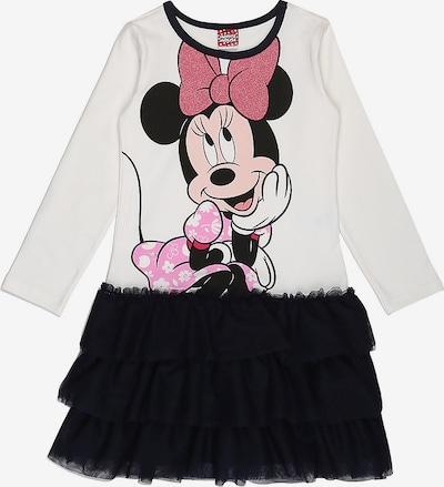 DISNEY Kleid 'Minnie Mouse' in ultramarinblau / pink / schwarz / weiß, Produktansicht