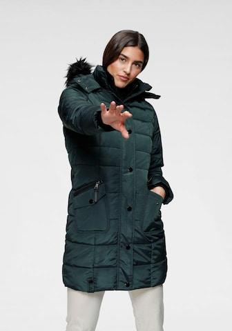 ALPENBLITZ Winter Coat in Green